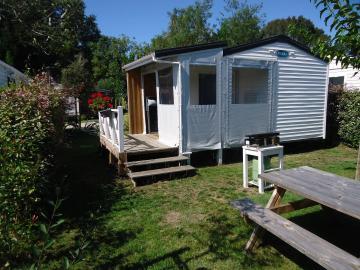 Camping les Grissotières location Mobil home Edward Teach