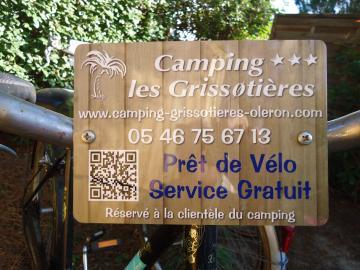 Préstamo de bicicletas Camping les Grissotières