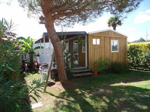 Campingplatz les Grissotières mobile-home Unterkunft surcouf