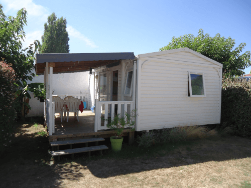 camping les grissotieres mobil-home Jhon-Fenn location
