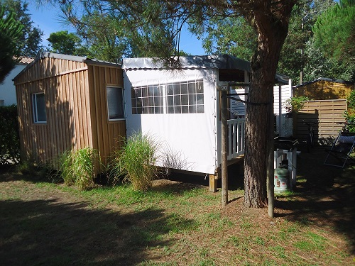 Camping les Grissotières location Mobil home Jean Bart