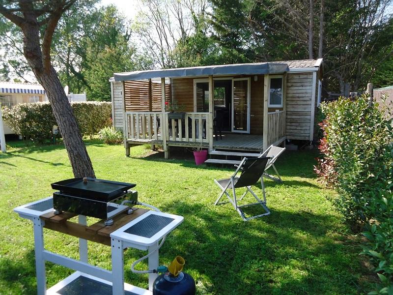 Camping les Grissotières alquiler Casa móvil Henry Todos