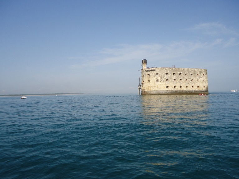 Le fort boyard Île Oléron Camping les Grissotières